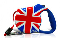 Avant Garde retractable leash, London Calling