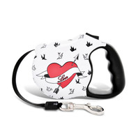 Avant Garde retractable leash, Freebird