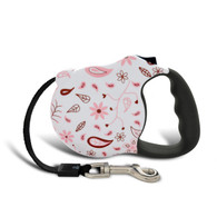 Avant Garde retractable leash, Floral Fling