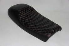 Black cover with White stitching