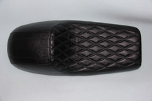 Black cover with large Black diamond pattern