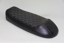 Black cover with White stitching pattern