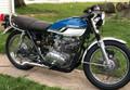Kawasaki KZ400 KZ 400 1974-1976 scrambler motorcycle seat saddle SKU: L3207