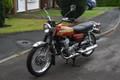 28.5 inches 1970-1975 Suzuki T500 Titan low profile classic motorcycle seat saddle SKU: L2097