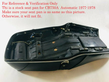 For Reference and Verification Only. Make sure your old stock seat pan is as same as this picture. Otherwise, you have another model of Hondamatic Automatic model