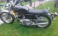 Norton Commando Interstate 750 850 low profile classic style motorcycle seat SKU: L1154