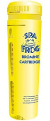 New Name FROG Serene® formerly Spa Frog BROMINE Replacement Cartridge Yellow