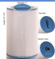 "Dimension One Spas (D1) Top Load Filter: AK-9028, OEM: 1561-12, Pleatco: PDO75P3 , Unicel: 7CH-975 , Filbur: FC-0475, Diameter: 7"", Length: 10-1/2"" (AK-9028)"