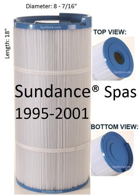 1995-2001 Sundance® Spas Filter, 6540-490, Altamar, Calypso, Cameo, Capri, Corum, Marin,Maxxus, Montego, Optima, Rio, Royale