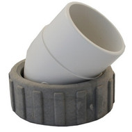 """Sundance Spa Pump Union Assembly, 45 Degree, 2"""" inch tail piece with O-ring (1997-2008)"""