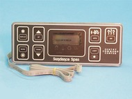 6600-211, SUNDANCE® Spa Side Control, 800 Series, 1 Pump