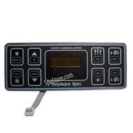 6600-800, SUNDANCE® Spa Control Panel, 800 Series, 2 Pump