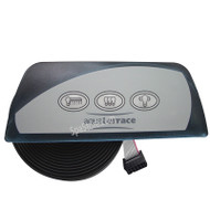 6600-855 SUNDANCE® Spas Aquaterrace Remote Light Control Panel: 2005-2009