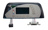 Sundance® Spas 850 & 880 Series Topside Control Panel 6600-860, 2-Pump Altamar®, Cameo®, Majesta, Marin®, Maxxus, Optima®