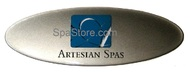 OP11-0211-77 Artesian® Spas Center Logo Dome Plate