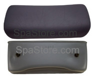 "OP26-0080-85 Artesian Spas Pillow #1313 Island Spas Lounger Headrest, Charcoal, 11-3/4"" x 5"""