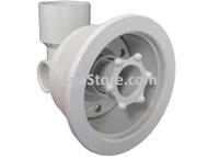 "JACUZZI® Jet Body Silver Diameter: 4-5/16"" Inner Diameter: 3-5/8"" Plumbing Size: 1-1/2"""