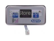 "2500-154 Jacuzzi® Echo 2-Button Digital Control Panel Size 4-1/2"" x 2-1/4"""