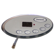2002-2006 Jacuzzi® Hot Tub Spa 2600-322 Topside Control Panel, J-300 & J-200 SERIES LED, 2 PUMP