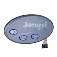 2002-2006 JACUZZI® J-300 Series, 2600-324, Auxillary Control Panel, LCD Remote