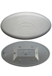 Jacuzzi® J-200 Series Hot Tub Spa Pillow Headrest Replacement, Silver, 2472-828, 2005+ J-220, J-230, J-270, J-280, J-235, J-245, J-275