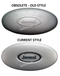 Comparison 2002-2013 J-300 Series Jacuzzi® Pillow 2472-826 with pillows base mount and pillow insert