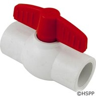 "Ball Valve, Magic Plastics, 1/2"" Slip"
