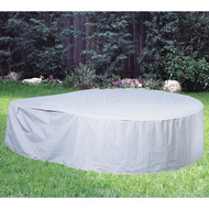 "Softub Model 300 Tub Guard Protective Cover 6.5 ft, Gray, Vinyl, 78"" x 27"""