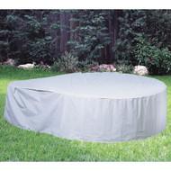 "Softub Model 300 Tub Guard Protective Cover 6.5 ft, Gray, Vinyl, 78"" x 27"""