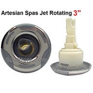 "3"" Inch Artesian Spa, Island Spa Jet Insert, Rotating Helix Stainless, OP03-1206-52PE, Years 2009-2012"