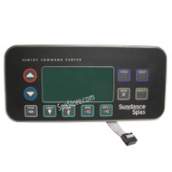 SUNDANCE® Spas, Topside Control Panel, 800, 850 Series,1 or 2-Pump, 1993-1999