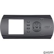 Artesian Spas Control Panel Overlay, Gecko in.k600-AE1, 11 Button Holes