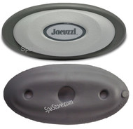 2014+ J-300 Series Jacuzzi® Pillow Headrest OEM Part 2472-824, With Pillows Insert And Pillow Base Mount