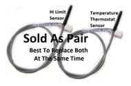 2001+ Softub Thermostat Temperature Sensor / Hi Limit Sensor Probe for Digital & Analog Control Systems Sold as Pair