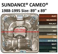 SPA COVER SUNDANCE® SPAS CAMEO® 1988-1995 Wood Cabinet