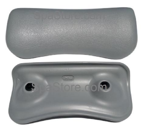 """Artesian South Seas Spa Pillow Headrest Replacement Lounger 26-0601-85 Light Gray, 12-1/4″ Width x 5-3/4"""" Height, 2012-2018"""