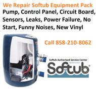 Softub Repair and Service Center- San Diego, CA & Entire U.S.