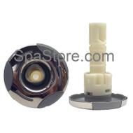 "2"" Artesian Spas, Island Spas, Jet, Helix, Directional, Stainless Steel, OP03-1102-52PE"