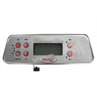 2006-2008 Coleman MAAX Spa Topside Control Panel 103-741_107-734 Deluxe Series Mx700 With 6 Buttons