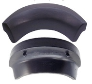 "Strong Spas & Costco Evolution Neck Pillow Headrest Replacement- Curved 11"" X 3-1/2"" Black"