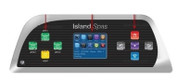 Artesian Spas Island Series Topside Control Panel TP800 With 3-Pumps & Overlay,  33-1314-08-11-1303-08-3P, Years 2013+