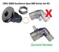 SUNDANCE® 6540-699, Jet Wall Fitting KIT 316 Stainless Steel, Jet, O-ring, Nut