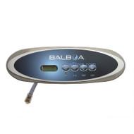 Topside Control, Balboa, Oval, 4-Button, Jet-Jet-Temp-Light