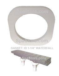 "SUNDANCE®, Spas, JACUZZI®, Waterfall, Gasket, 6540-935, AquaTerrace, Niagra, Water,fall, Body, 1.25"", ID"