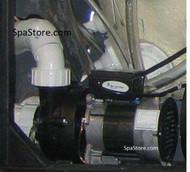 Current Version 3 HP, 1 Speed, Artesian® Spa Pump Ultra Jet, Platinum, Island , Resort, Gold, 230 Volts, Power Wow 60 hz Replaced Pentair Model: PUUMS302582PR, Part# 1016176