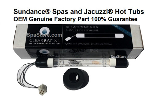 Current Version OEM 20 % Longer Bulb 2012+ OEM CLEARRAY® XL Sundance® & Jacuzzi® UV Bulb Replacement, UV-C, 6472-841 Genuine Factory Part