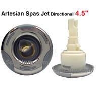 "4.5"" Artesian Spas, Island Spas, 03-1308-52, Jet Insert , Helix, DIRECTIONAL, Stainless 2007-2012"