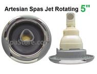 "5"" Artesian Spas, Island Spas, 03-1404-52, Jet Insert , Helix, ROTATING, Stainless 2007-2012"