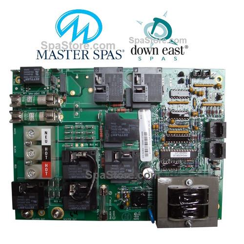 Master Spas® Down East Spas Circuit Board MAS425
