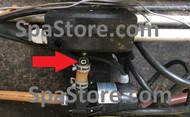 Jacuzzi® Spas Heater Hose Barb 2002-2015 J-310,J 315, J-325 Convertible Models